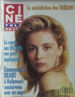 Emmanuelle Béart - Cine Revue Magazine [France] (17 March 1998)