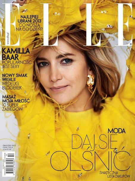 Kamilla Baar ELLE Magazine Poland