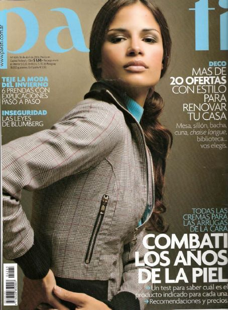 Natalia Botti - Para Ti Magazine Cover [Argentina] (16 April 2004)