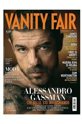 Alessandro Gassman - Vanity Fair Magazine [Italy] (12 April 2010)
