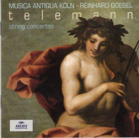String Concertos - Georg Philipp Telemann