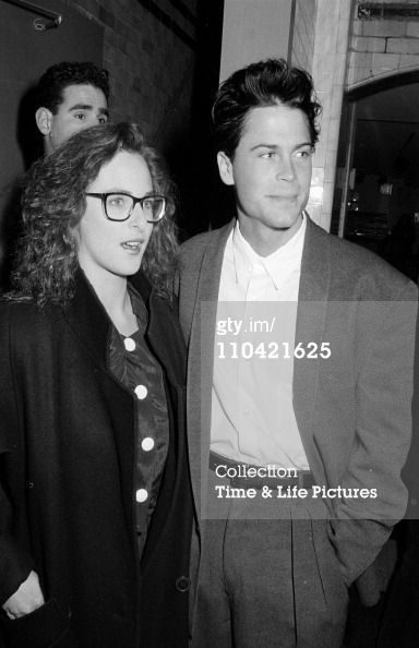 Marlee Matlin and Rob Lowe