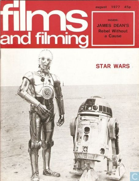 Star Wars - Films and Filming Magazine Cover [United Kingdom] (August 1977)