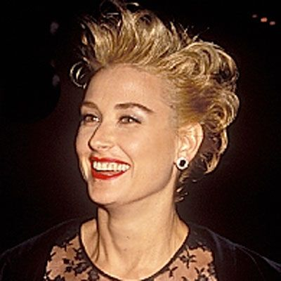 Demi Moore with Blonde Hair in 1990