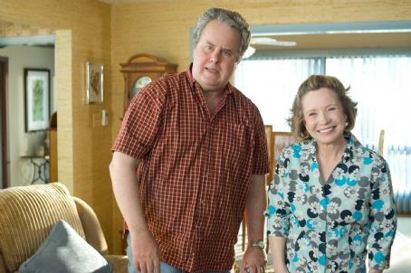 Debra Jo Rupp Mr. and Mrs. Kettner (Adam LeFevre and ) can't believe their son Kirk's good fortune when a beautiful woman falls for him in the DreamWorks Pictures comedy 'She's Out of My League,' a Paramount Pictures release. Photo Cred