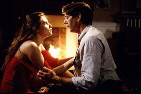 Peter Coyote  and Emmanuelle Seigner in Bitter Moon (1992)
