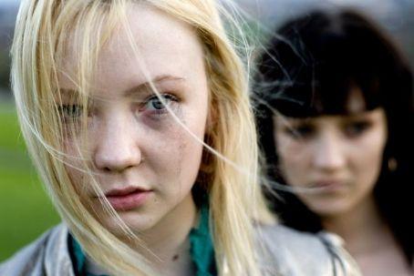 Nichola Burley Kerrie Hayes as Nicole and  as Jasmine in BBC Films' Kicks.