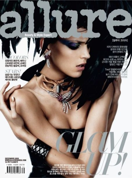 Anja Rubik - Allure Magazine Cover [Korea, South] (December 2010)