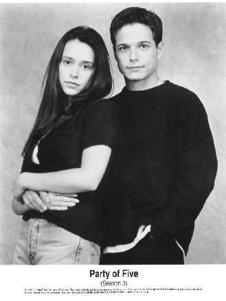 Party of Five Scott Wolf and Jennifer Love Hewitt in  - Season 3 (1997)