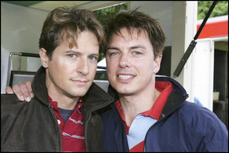 John Barrowman and Scott Gill