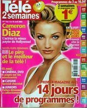 Cameron Diaz - Télé 2 Semaines Magazine [France] (3 April 2004)