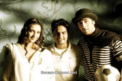 Ranbir Kapoor - Unseen pictures of Ranbir and Sonam from Saawariya