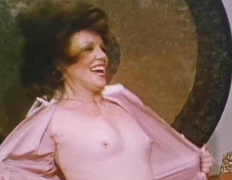 Jaye P. Morgan Morgan flashing her breasts to Gene-Gene the Dancing Machine. Just because