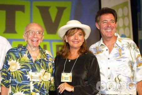 Barry Williams Producer Sherwood Schwartz, Dawn Wells &