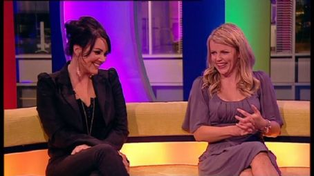 Ellie Harrison Martine McCutcheon &  on The ONE Show