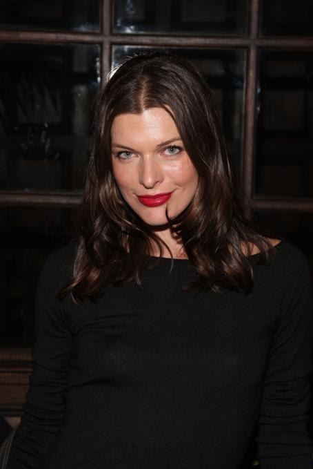 Dazed and Confused Milla Jovovich - Dazed & Confused And Hudson Jeans After-Party Hosted By Georgia May Jagger At The Jane Hotel On September 14, 2009 In New York City