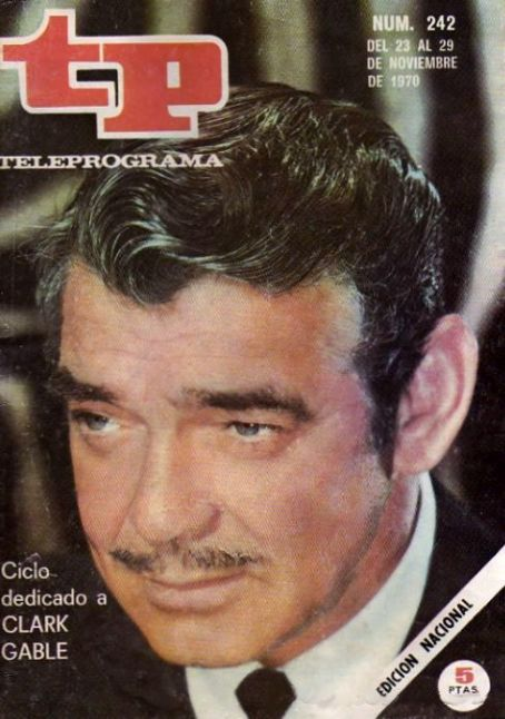 Clark Gable - tp Magazine [Spain] (November 1970)