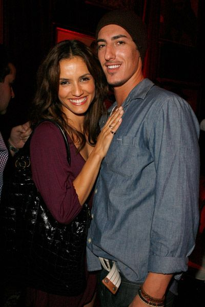 Eric Balfour and Leonor Varela - With boyfriend Eric Balfour