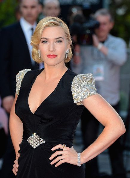 "Kate Winslet attends the premiere of ""Titanic 3D"" at the Royal Albert Hall in London"
