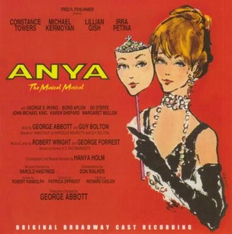 Constance Towers Anya,1965 Broadway Musical, ,