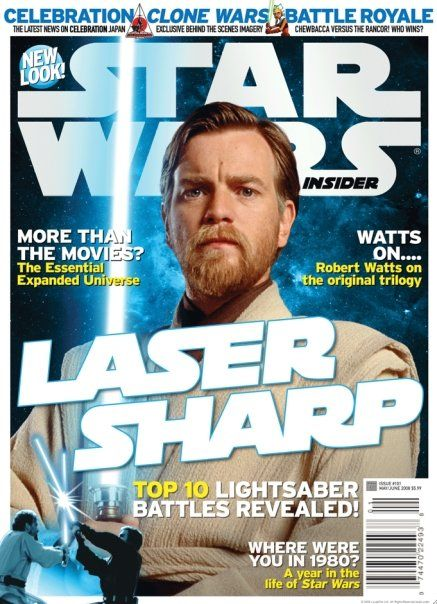 Ewan McGregor - Star Wars Insider Magazine [United States] (May 2008)