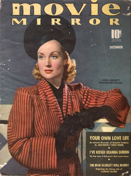Carole Lombard - Movie Mirror Magazine [United States] (December 1939)