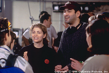 Can't Hardly Wait Deborah Kaplan and >Harry Elfont, screenwriters and directors of Columbia's Can't Hardly Wait - 1998