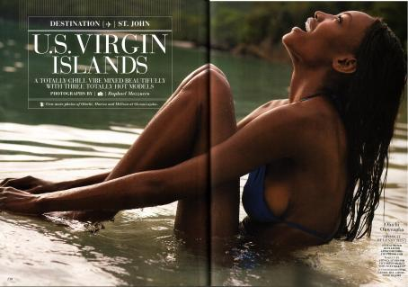 Oluchi Onweagba - Sports Illustrated Swimsuit Issue 2008 Scan