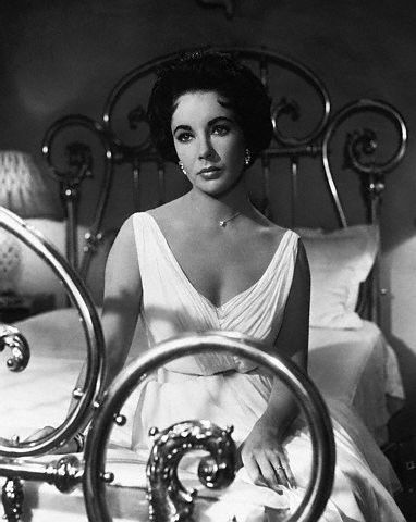 Elizabeth Taylor as a young woman