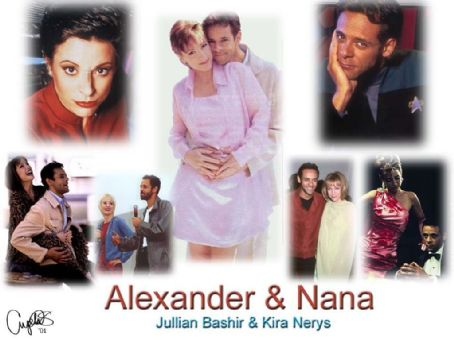 Nana Visitor Alexander and Nana