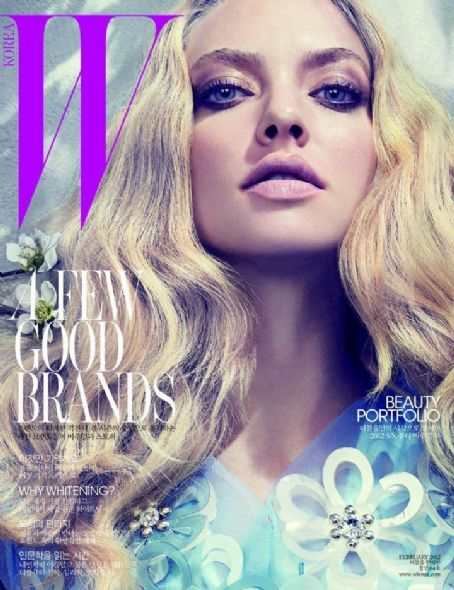 Amanda Seyfried - W Magazine Cover [Korea, South] (February 2012)