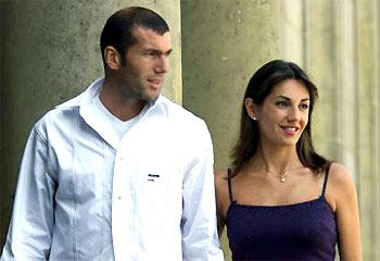 Zinédine Zidane - Zinedine Zidane and Veronique Zidane