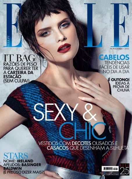 Elle Magazine Cover [Portugal] (November 2013)