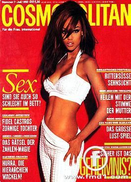 Tyra Banks - Cosmopolitan Magazine [Germany] (July 1992)