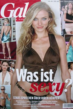 Cameron Diaz - Gala Magazine [Germany] (20 July 2006)