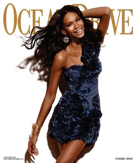 Chanel Iman - Ocean Drive Magazine [United States] (November 2010)