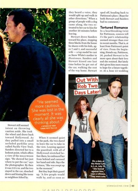 Kristen Stewart - US Weekly Magazine Pictorial [United States] (6 August 2012)