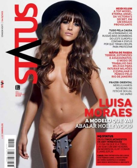 Luisa Moraes - Status Magazine Cover [Brazil] (September 2011)