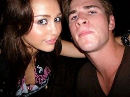 Liam Hemsworth Miley Cyrus and
