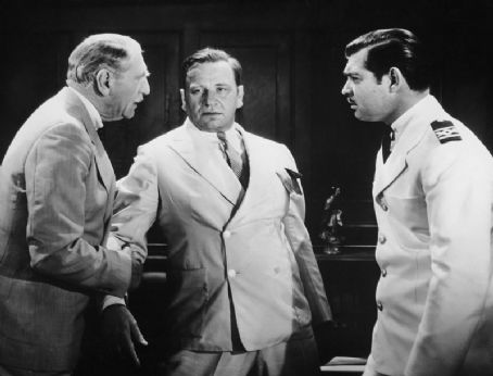 C. Aubrey Smith, Clark Gable, Wallace Beery