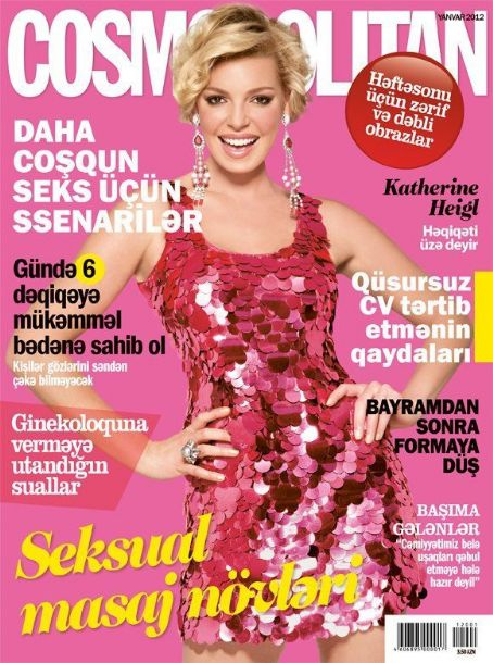 Katherine Heigl - Cosmopolitan Magazine Cover [Azerbaijan] (January 2012)