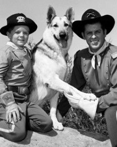 Rin Tin Tin  With Lee Aaker & James Brown