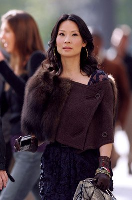 Cashmere Mafia Lucy Liu and Bonnie Somerville on Location for