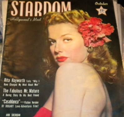 Ann Sheridan - Stardom Magazine [United States] (October 1942)