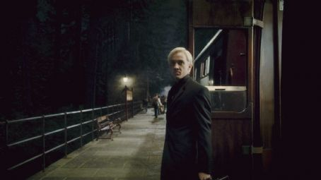 Draco Malfoy TOM FELTON as  in Warner Bros. Pictures' fantasy adventure 'Harry Potter and the Half-Blood Prince.' Photo courtesy of Warner Bros. Pictures