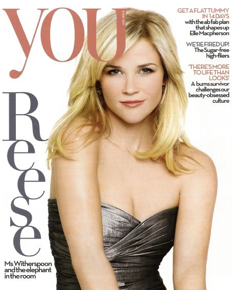 Reese Witherspoon - You Magazine Cover [United Kingdom] (8 April 2011)