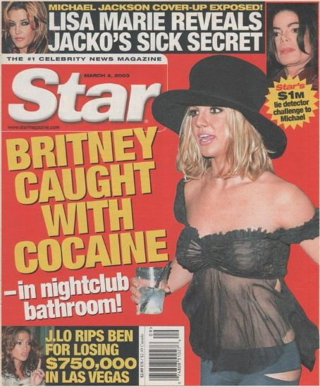 Britney Spears - Star Magazine Cover [United States] (4 March 2003)
