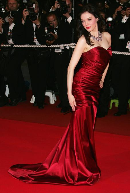"Rose McGowan - ""Death Proof"" Premiere At The 60th International Cannes Film Festival"