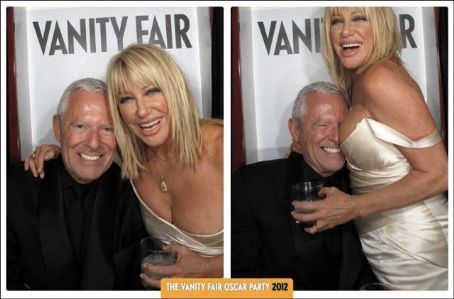 Alan Hamel from the 2012 Vanity Fair Oscar Party Booth