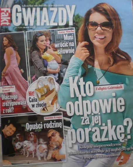Anna Mucha - Gwiazdy Magazine Cover [Poland] (20 May 2012)